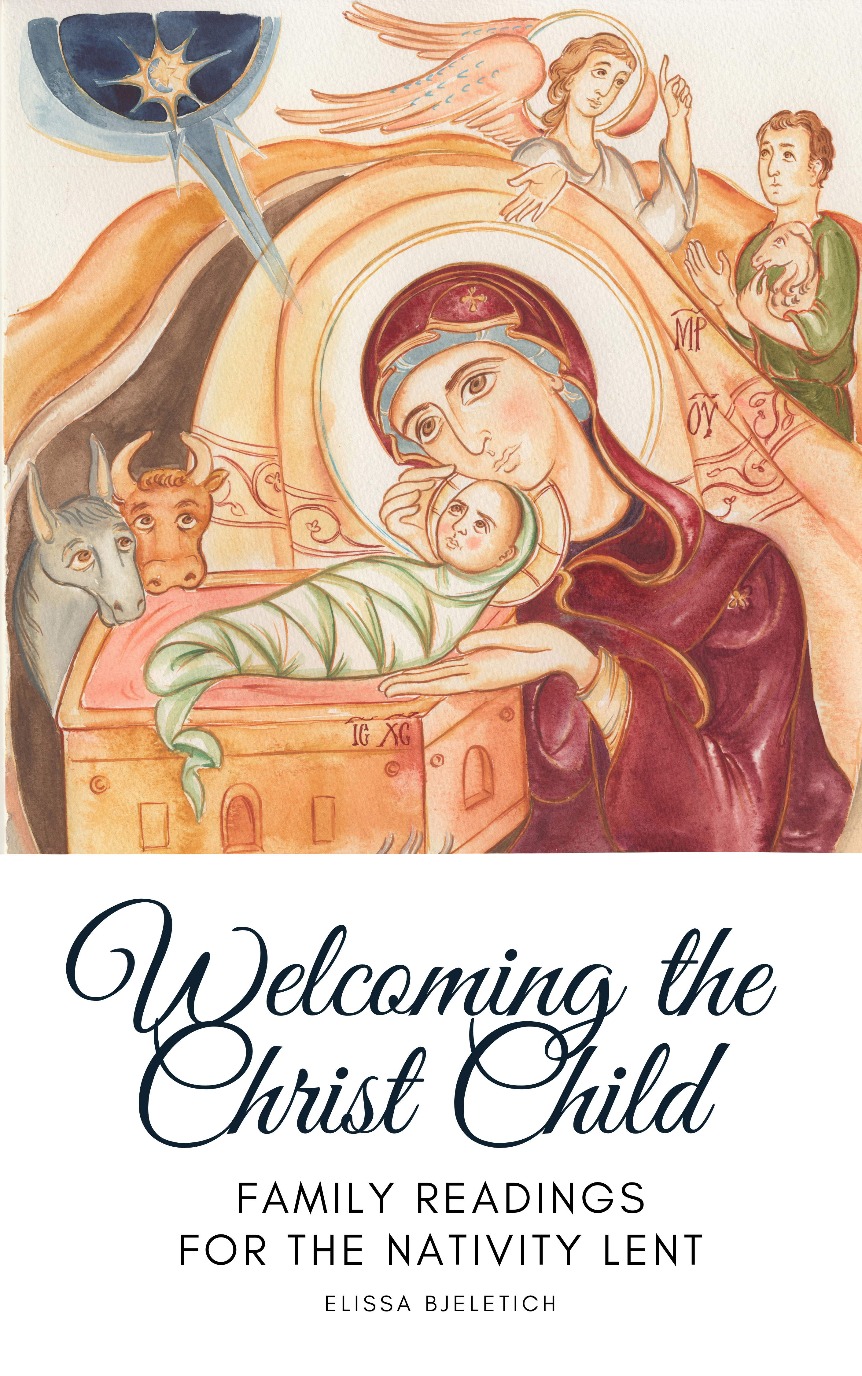 Welcoming the Christ Child, cover for second edition